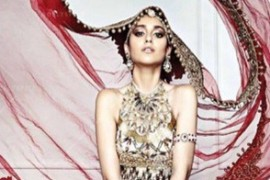 Daniel Bauer creates a gorgeous look for Ileana D'Cruz latest cover shoot for L'Officiel