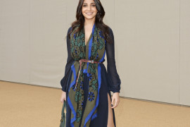 Anushka Sharma at Burberry Prorsum Womenswear Spring/Summer 2015 Show
