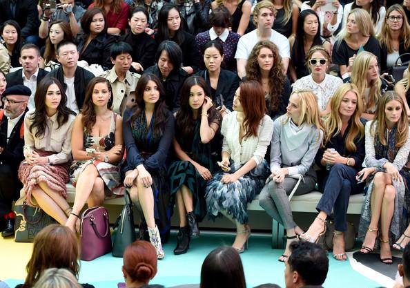 Burberry Fashion Show Spring Summer 2015 Live SpringSummer Anushka