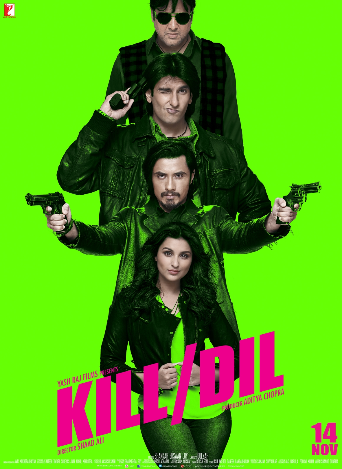 Kill Dil Vertical Poster