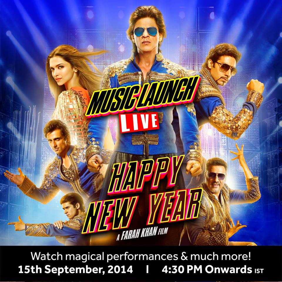 Watch the Happy New Year music launch, LIVE!