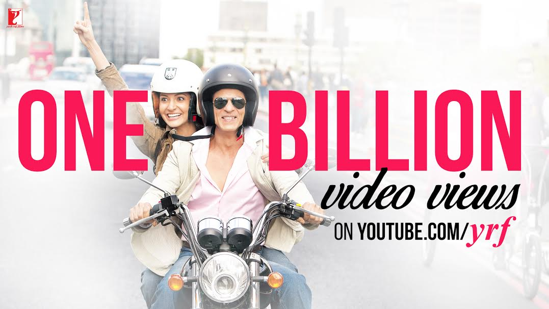 14oct_Yash Raj Youtbut One Billion