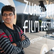 Pawan Kumar at the Zurich Film Festival, Switzerland. September 2014
