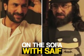 Saif interviews Saif for Happy Ending