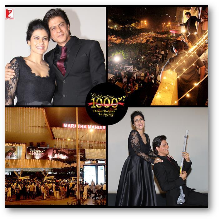 14dec_Shah Rukh Khan Kajol 1000 weeks DDLJ 2
