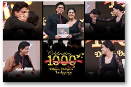 14dec_Shah Rukh Khan Kajol 1000 weeks DDLJ