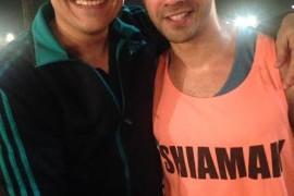 14dec_Varun Dhawan and Shiamak 1