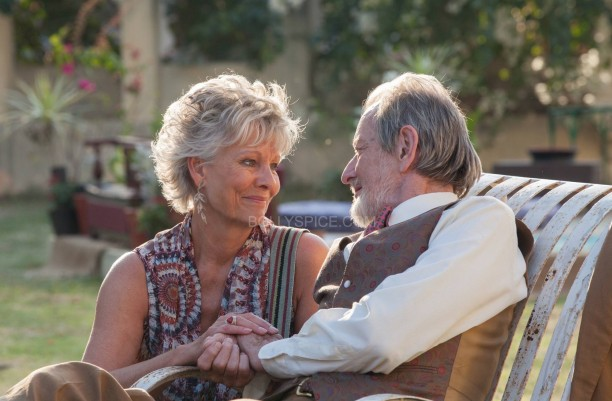 Second Marigold Hotel - Diana Hardcastle and Ronald Pickup as 'Carol and Norman Cousins'