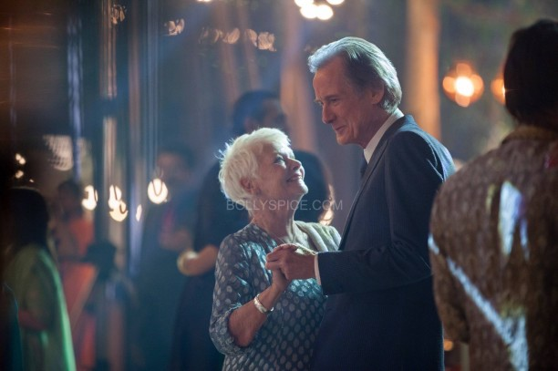 Second Marigold Hotel - Judy Dench and Bill Nighy
