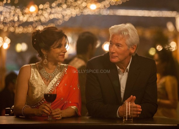 Second Marigold Hotel - Lilette Dubey and Richard Gere