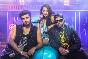 Promotional Song of the movie 'Tevar' with Arjun Kapoor, Sonaksh