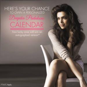 15jan_Deepika Padukone Calendar App