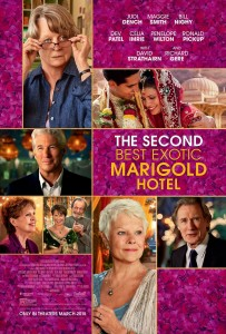 secondbestexoticmarigoldhotel poster