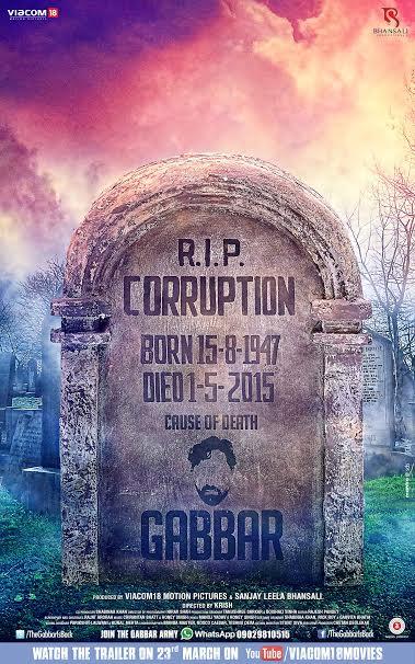 Gabbar RIP poster