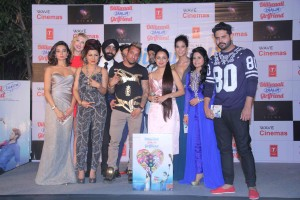 Ira Dubey, Natalia Kapchuk, Hard Kaur, Tarnpreet Singh, Japinder Kaur, Jazzy B, Millind Gaba, Prachi Mishra, Indeep Bakshi, Miss Pooja &Alfaaz at DWZG music launch