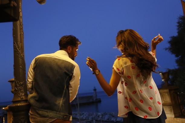 Ranbir and Deepika shooting for Tamasha in Corsica