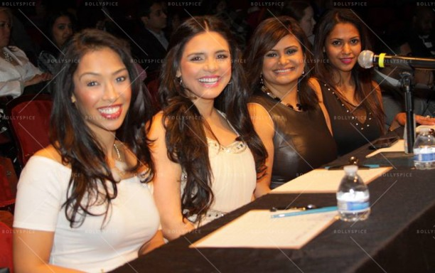 Judges, Thara Natalie, Karen Hoyos, Joya Dass, Deeba Patel