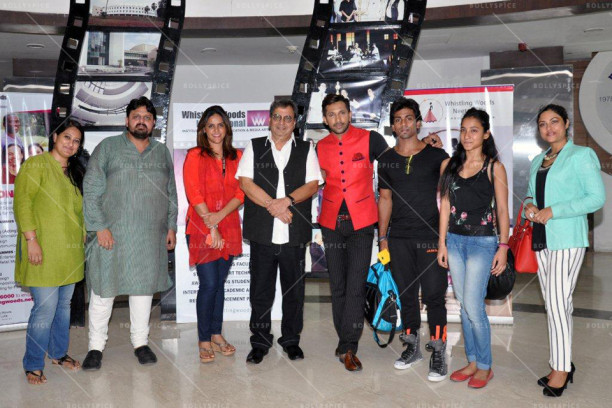 Chaitanya Chinchlikar, Meghna Ghai Puri, Subhash Ghai, Terence Lewis at Whistling Woods International