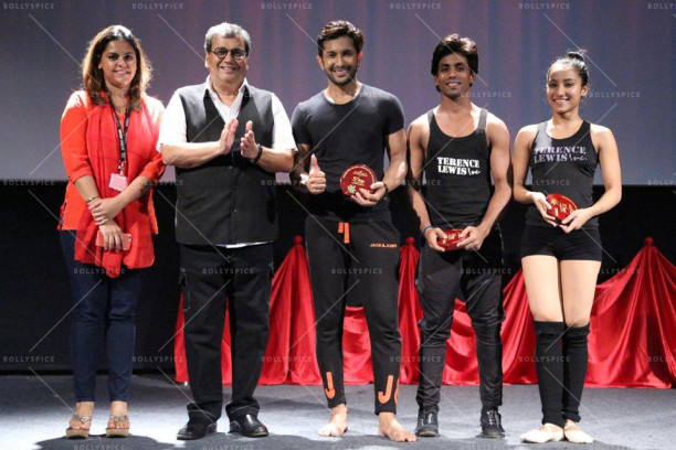 Meghna Ghai Puri, Subhash Ghai, Terence Lewis at 5th Veda, Whistling Woods International