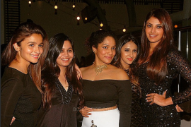 Alia and her friends: The Spice Girls