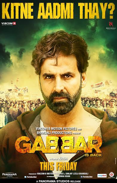 Gabbar Is Back Akshay Kumar Kitne Aadmi Thay