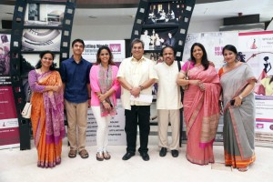 Meghna Ghai Puri, Subhash Ghai, Dr. L Subramaniyam_5th Veda, Whistling Woods International
