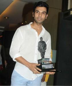 Rajkummar Rao receives a Dadasaheb Phalke Award