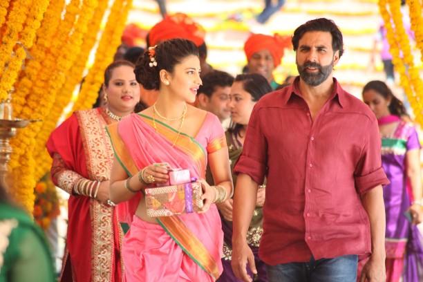 Shruti Hassan in Gabbar Is Back