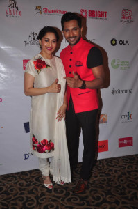 Terence Lewis And Madhuri Dixit