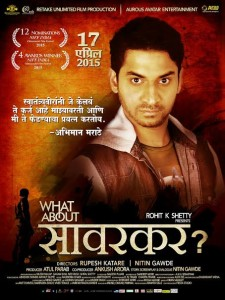 What About Savarkar poster
