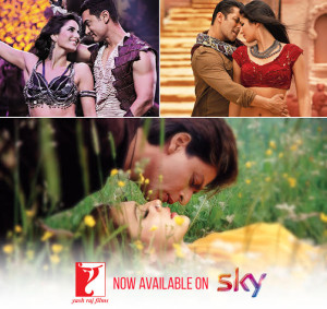 YRF now available on SKY