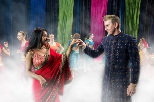 unINDIAN. Brett Lee as Will with Tannishtha Chatterjee as Meera.Photo by... (1)