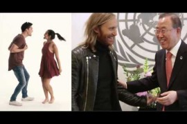 Superstars launch global music video with United Nations and MixRadio for International Happiness Day!