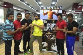 HRX in Bhujj Gym