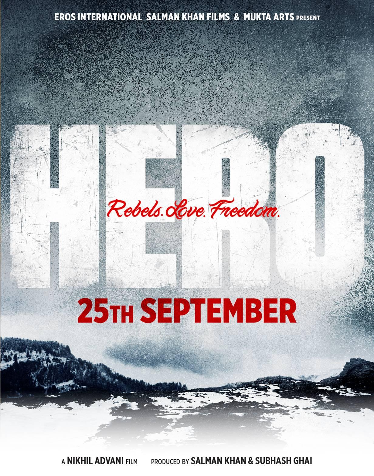 Hero - Release Date Poster