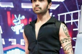 Himesh Reshammiya's new look on 'The Voice- India'