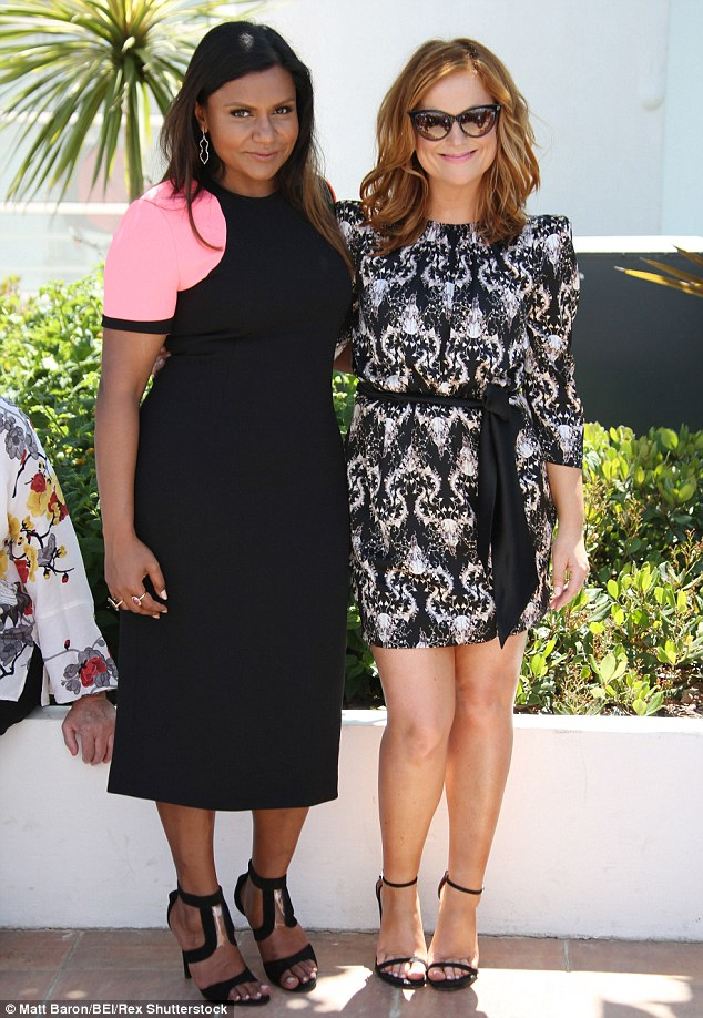 Amy Poehler And Mindy Kaling Get Emotional At Cannes Bollyspice Com The Latest Movies Interviews In Bollywood