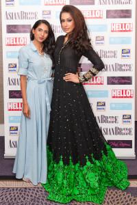 Model Pooja Parmar in a Rozina Munib outfit