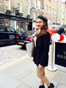 Prachi Desai Holidays in London