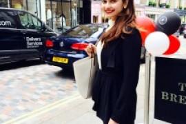 Prachi Desai holidays in London