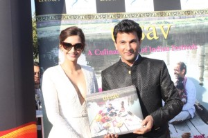 Sonam Kapoor launches Utsav book at Cannes 2