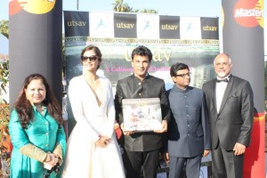 Sonam Kapoor launches Utsav book at Cannes 3