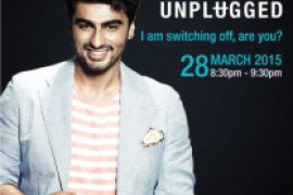 Arjun Kapoor calls out for people to support India Unplugged for Earth Hour 2015