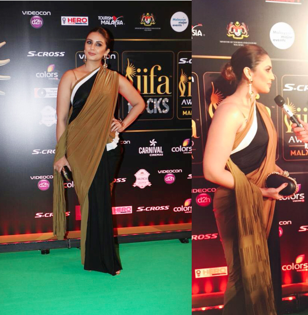 Huma Qureshi IIFA Rocks 2015