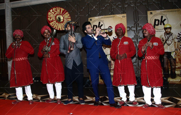 Bollywood actor Anil Kapoor during the success party of film P K in Mumbai, India on June 10, 2015