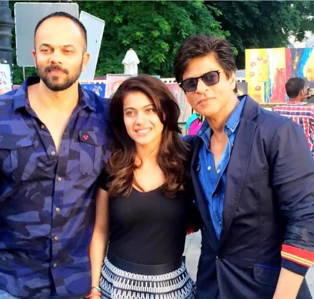 Shah Rukh Khan Kajol Dilwale