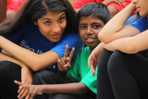 Volunteer Shreya Vaidya