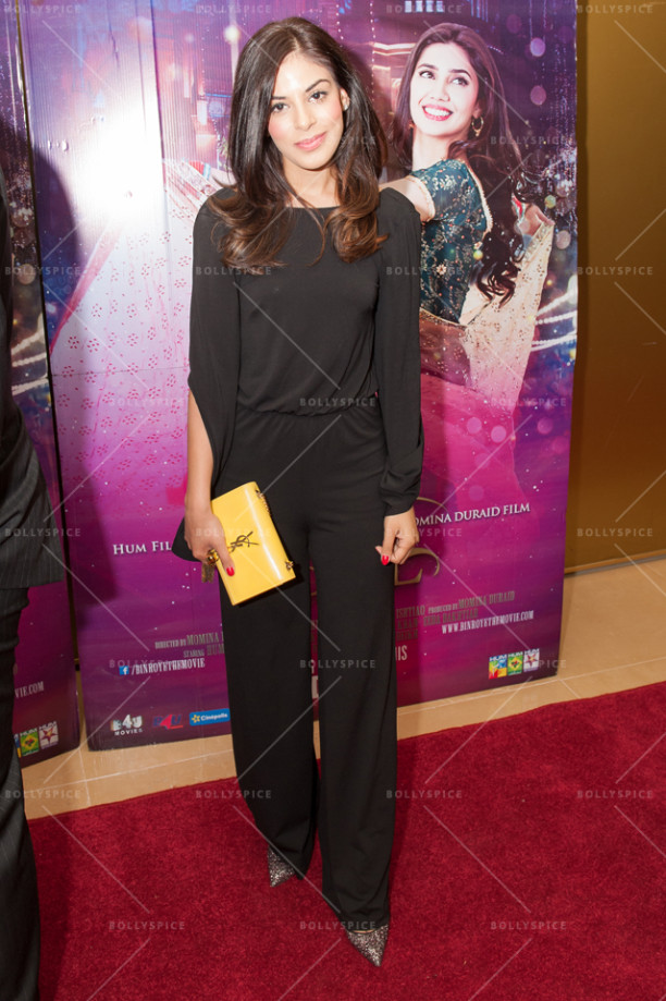 Desi Rascals cast - Yasmin Karimi at Bin Roy premiere