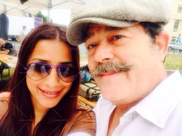 Kunal Kapoor with producer Ashvini Yardi