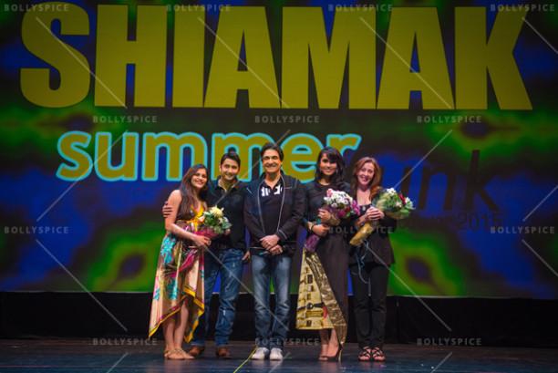 Shiamak Davar & Marzi Pestonji with the judges Pamela Rosa, Kanika Sasan and  Kashmira Pestonji SUMMER FUNK 2015 – Rise of the Champions